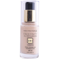 Belleza Mujer Base de maquillaje Max Factor Facefinity All Day Flawless 3 In 1 Foundation 35-pearl 30 ml