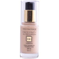 Belleza Mujer Base de maquillaje Max Factor Facefinity All Day Flawless 3 In 1 Foundation 55-beige 30 ml