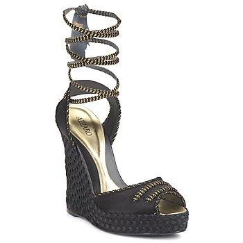 Zapatos Mujer Sandalias Azzaro LUGGANO Negro