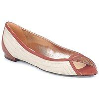 Zapatos Mujer Bailarinas-manoletinas Azzaro JOUR Beige / Camel