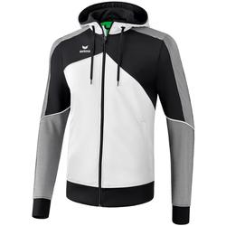 textil Hombre Chaquetas de deporte Erima Veste à capuche  Premium One 2.0 blanc/bleu/noir