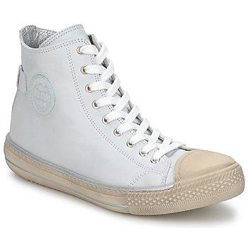 Zapatos Niños Zapatillas altas Hip LOUGO Crema