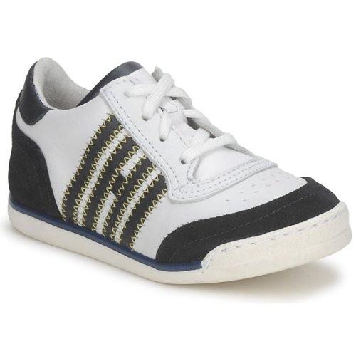 Zapatos Niños Zapatillas bajas Hip ARCHIK Blanco / Azul
