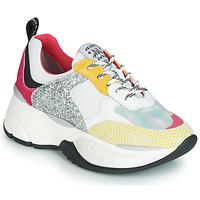 Zapatos Mujer Zapatillas bajas Meline PUNKY DADDY Blanco / Rosa