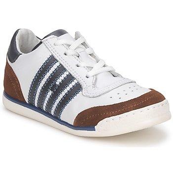 Zapatos Niños Zapatillas bajas Hip ARCHIK Blanco / Marrón