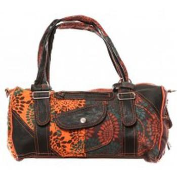 Bolsos Mujer Bolso para llevar al hombro Bamboo's Fashion Sac à main Doha GN-146 Orange/Marron Naranja