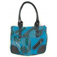Bolsos Mujer Macuto Bamboo's Fashion Petit Sac Besace Sydney GN-147 Bleu Azul