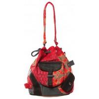 Bolsos Mujer Macuto Bamboo's Fashion Sac cabas Barcelone GN-1411 Rouge Rojo