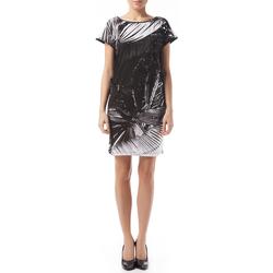 textil Mujer vestidos cortos Gas Vestido Leire Tropical Negro