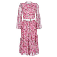 textil Mujer Vestidos largos MICHAEL Michael Kors ENCHANTED BLOOM DRESS Rosa