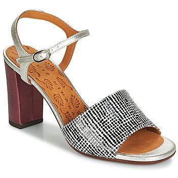 Zapatos Mujer Sandalias Chie Mihara PARIGI Plata / Negro