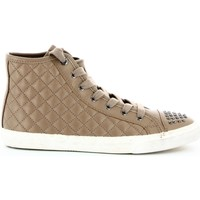 Zapatos Mujer Zapatillas altas Geox D34A1B 000BC Sneakers Mujeres Taupe