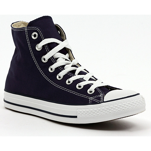 Zapatos Zapatillas altas Converse ALL STAR HI NAVY Multicolore