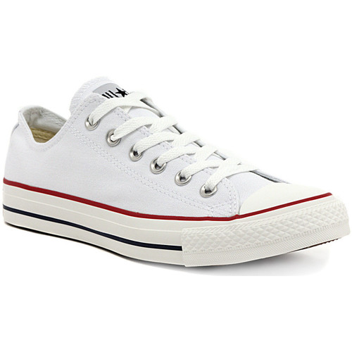Zapatos Mujer Zapatillas bajas Converse ALL STAR OX  OPTICAL WHITE Multicolore