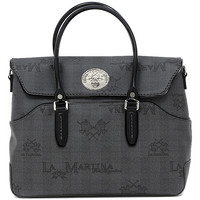 Bolsos Mujer Bolso shopping La Martina EVITA BAG BLACK Multicolore