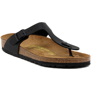 Zapatos Mujer Chanclas Birkenstock GIZEH SCHWARZ CALZ N Multicolore