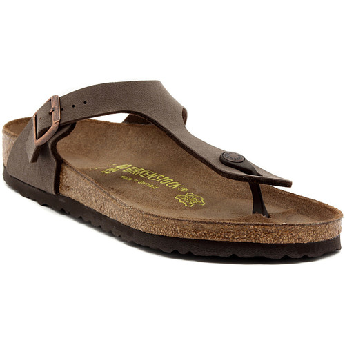 Zapatos Mujer Chanclas Birkenstock GIZEH  MOCCA     90,9