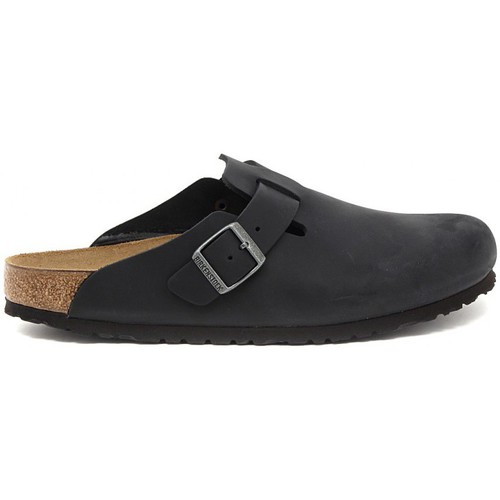 Zapatos Hombre Zuecos (Clogs) Birkenstock BOSTON SCHWARZ Multicolore