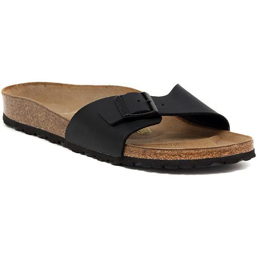 Zapatos Mujer Zuecos (Mules) Birkenstock MADRID SCHWARZ Nero