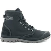 Zapatos Hombre Zapatillas altas Palladium Manufacture Solid Ranger Nyc Grises