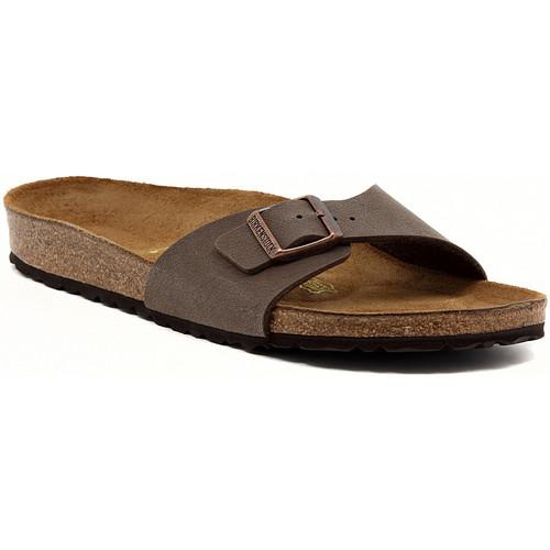 Zapatos Mujer Zuecos (Mules) Birkenstock MADRID MOCCA CALZ S Marrone