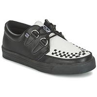 Zapatos Derbie TUK CREEPERS SNEAKERS Negro / Blanco