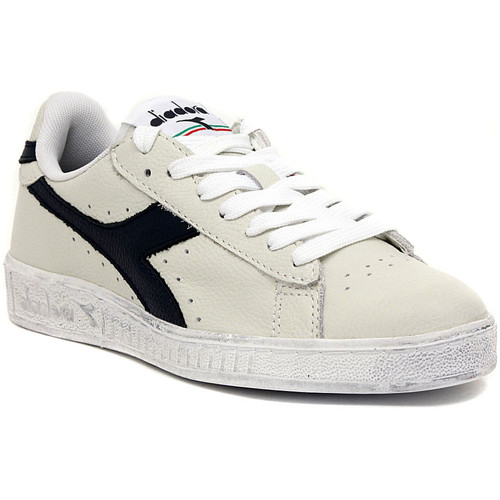 Zapatos Zapatillas bajas Diadora GAME LOW WAXED BLU Multicolore