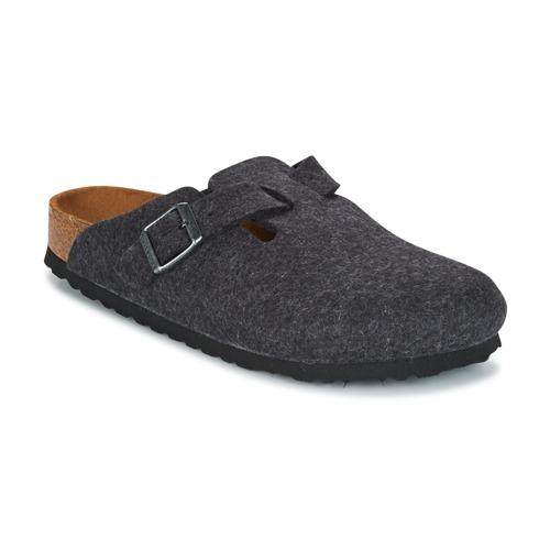 Zapatos casuales salvajes Birkenstock BOSTON Gris