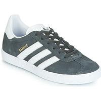 Zapatos Niños Zapatillas bajas adidas Originals GAZELLE C Gris