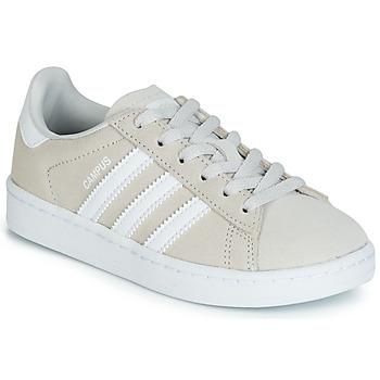 Zapatos Niños Zapatillas bajas adidas Originals CAMPUS C Gris