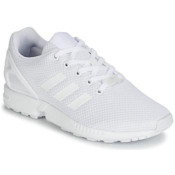 Zapatos Niño Zapatillas bajas adidas Originals ZX FLUX J Blanco