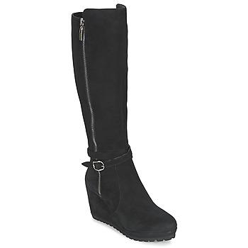 Zapatos Mujer Botas urbanas Moda In Pelle SITA Negro