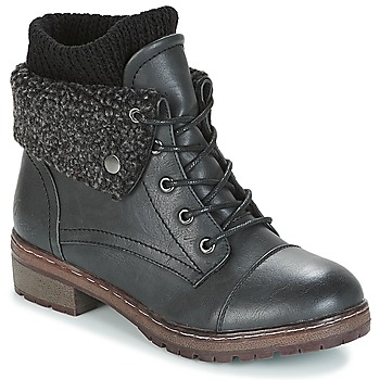 Zapatos Mujer Botas de caña baja Coolway BRING Negro