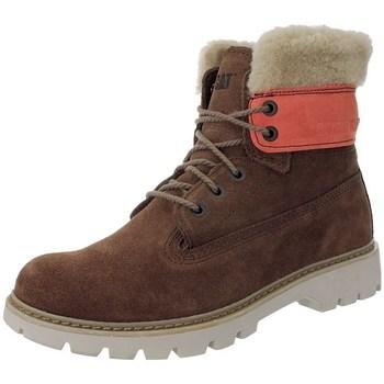 Zapatos Mujer Botas de nieve Caterpillar Lookout Fur W Rojos, Beige, Marrón