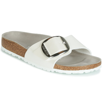 Zapatos Mujer Zuecos (Mules) Birkenstock MADRID BIG BUCKLE Blanco