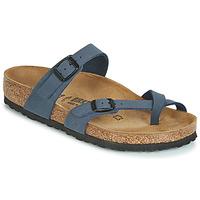 Zapatos Mujer Zuecos (Mules) Birkenstock MAYARI Marino