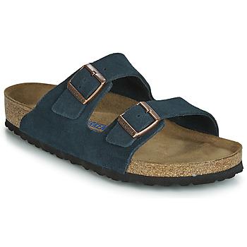 Zapatos Hombre Zuecos (Mules) Birkenstock ARIZONA SFB Marino