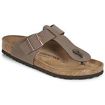 Zapatos Hombre Chanclas Birkenstock MEDINA Marrón