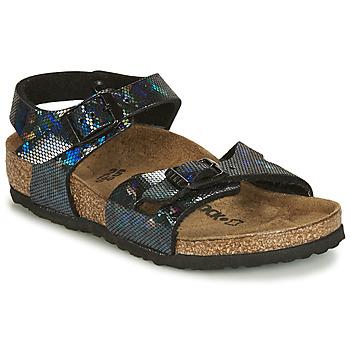 Zapatos Niña Sandalias Birkenstock RIO Negro