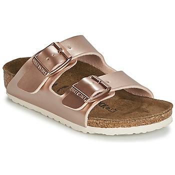 Zapatos Niña Zuecos (Mules) Birkenstock ARIZONA Oro