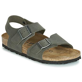 Zapatos Niño Sandalias Birkenstock NEW YORK Gris