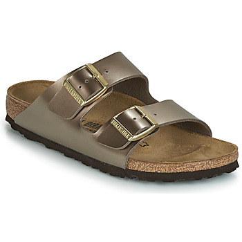 Zapatos Mujer Zuecos (Mules) Birkenstock ARIZONA Bronce