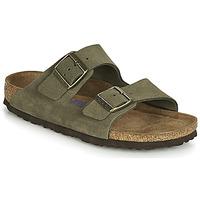 Zapatos Mujer Zuecos (Mules) Birkenstock ARIZONA SFB Kaki