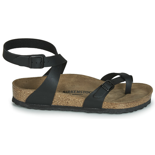 Sandalias Birkenstock Yara Negro Zapatos Mujer JlTFK1c3