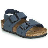 Zapatos Niño Sandalias Birkenstock NEW YORK Marino
