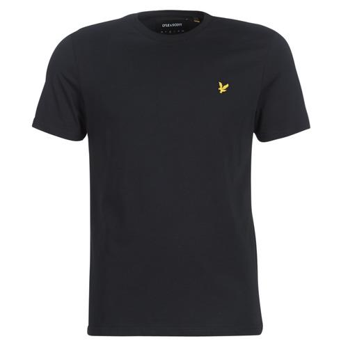 textil Hombre Camisetas manga corta Lyle & Scott FAFARLIBE Negro