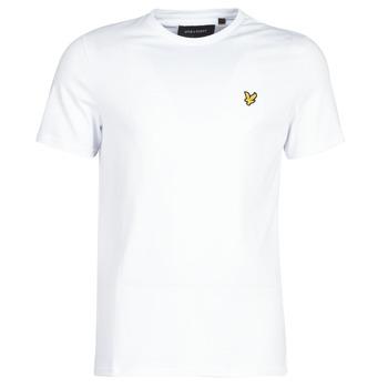 textil Hombre camisetas manga corta Lyle & Scott FAFARLITE Blanco