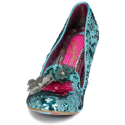 Tacón De Cariad Zapatos Azul Mujer Choice Irregular fgYv76yb