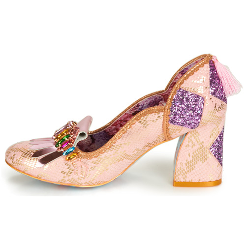 Irregular Rosa Tacón Choice De Zapatos TK1Fl3Jc