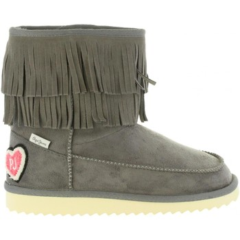 Zapatos Niña Botas de nieve Pepe jeans PGS50134 ANGEL Gris